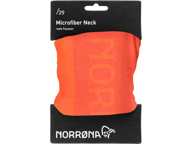 Norrøna /29 Microfiber Cuello, scarlet ibis/roiboos tea